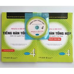 Giáo Trình và Bài tập Tiếng Hàn Tổng hợp dành cho người Việt Nam 4