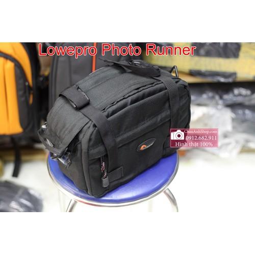 HÌNH THẬT- Túi máy ảnh Lowepro Photo Runner
