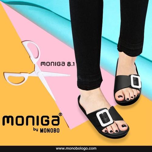 Dép đúc Thái Lan nữ quai khóa chữ nhật Monobo - Moniga 8.1LS