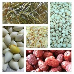 chè sâm bổ lượng - combo 10 loại nguyên liệu nấu cho 6-8 người ăn