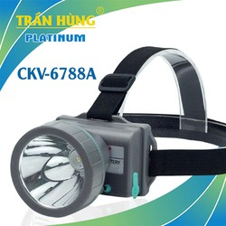Đèn pin đội đầu CKV-6788A [chạy 2 pin 18650]