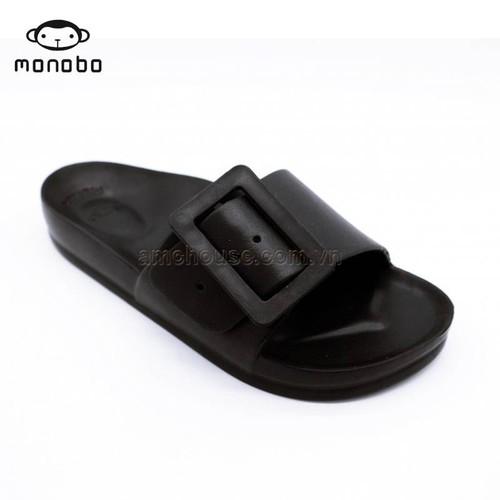Dép nhựa đúc Thái Lan nữ quai khóa vuông Monobo - Moniga 8.2lx - đen - 5073016 , 10755833 , 15_10755833 , 220000 , Dep-nhua-duc-Thai-Lan-nu-quai-khoa-vuong-Monobo-Moniga-8.2lx-den-15_10755833 , sendo.vn , Dép nhựa đúc Thái Lan nữ quai khóa vuông Monobo - Moniga 8.2lx - đen
