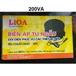Biến áp 220V ra 110V Lioa 200VA