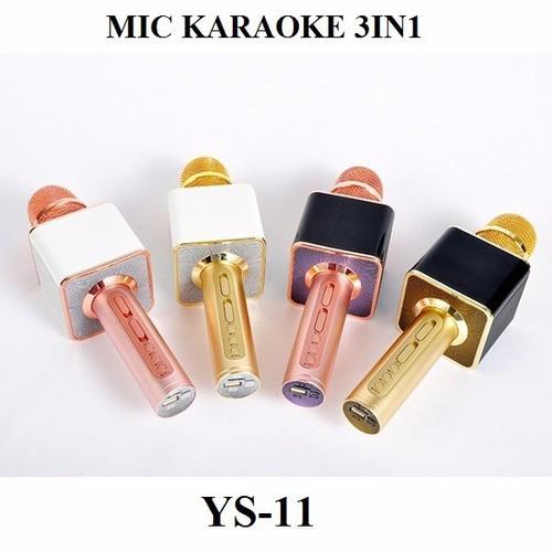 Mic karaoke không dây Bluetooth hay cấp 11, âm thanh to rõ