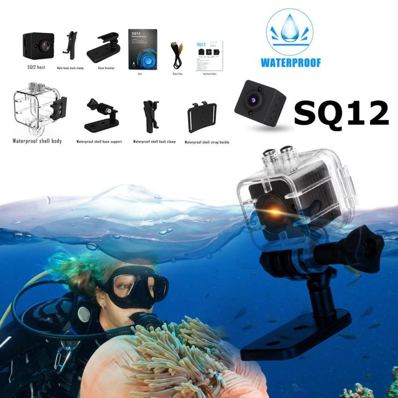 Camera Hành Trình Xe Máy SQ12 Siêu Nét Siêu Tí Hon 4