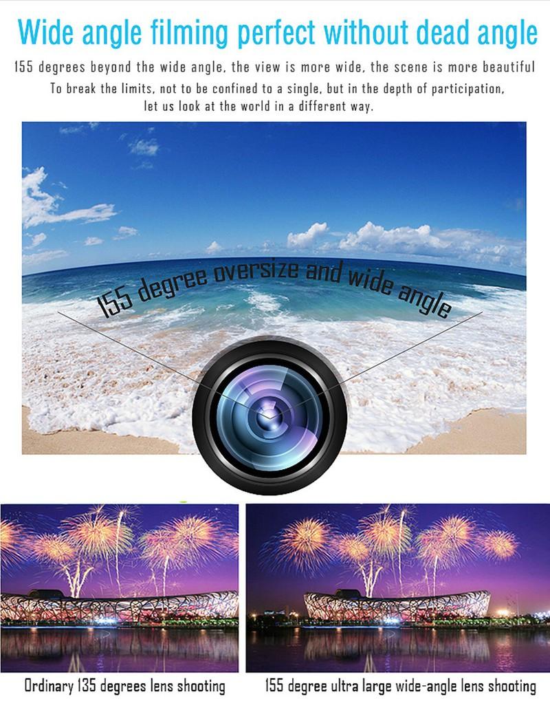 Camera Hành Trình Xe Máy SQ12 Siêu Nét Siêu Tí Hon 10