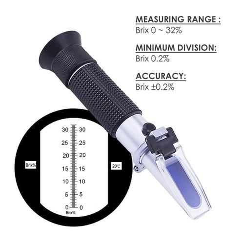Khúc xạ kế đo độ ngọt