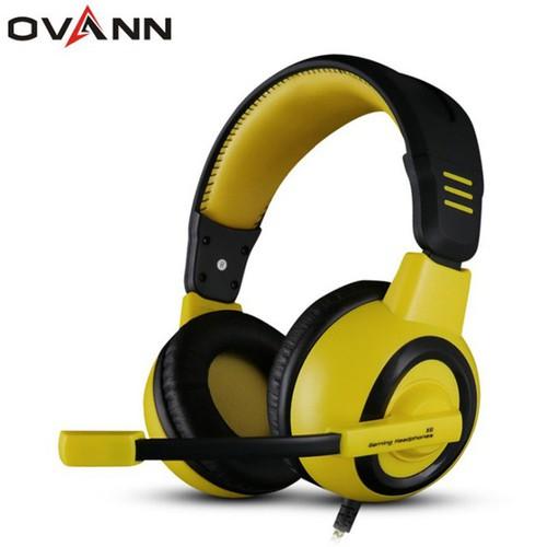 Tai nghe chụp tai Headphone Gamer có mic bass miễn chê