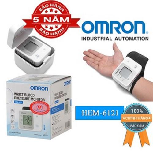 Máy đo huyết áp cổ tay Omron 6121 - 11216017 , 14028760 , 15_14028760 , 750000 , May-do-huyet-ap-co-tay-Omron-6121-15_14028760 , sendo.vn , Máy đo huyết áp cổ tay Omron 6121