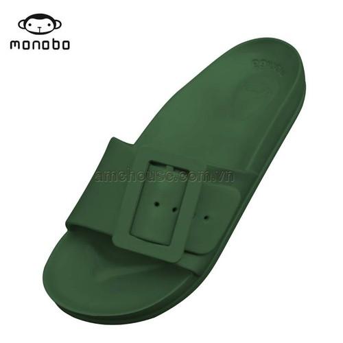 Dép nhựa đúc Thái Lan nữ quai khóa vuông  Monobo - Moniga 8.2lx - xanh rêu - 5073017 , 10755837 , 15_10755837 , 210000 , Dep-nhua-duc-Thai-Lan-nu-quai-khoa-vuong-Monobo-Moniga-8.2lx-xanh-reu-15_10755837 , sendo.vn , Dép nhựa đúc Thái Lan nữ quai khóa vuông  Monobo - Moniga 8.2lx - xanh rêu