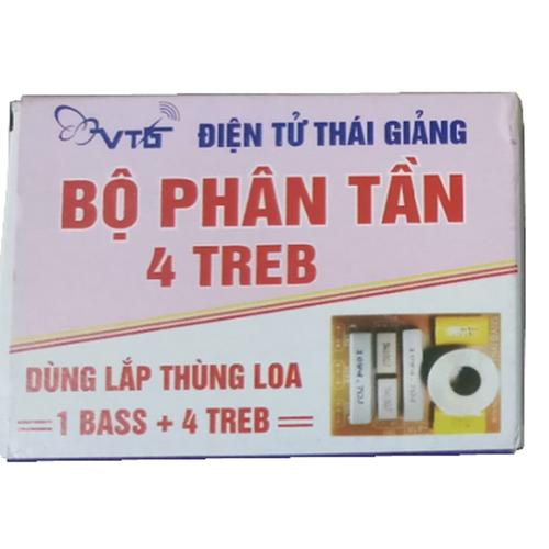 mạch phân tần 5 loa - 1 bass+4treble