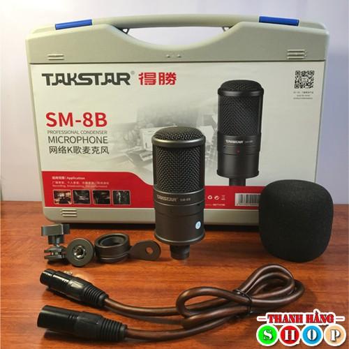 Bộ Míc thu âm Takstar SM8B - Micro SM8B cao cấp