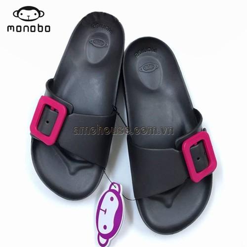 Dép nhựa đúc Thái Lan nữ quai khóa chữ nhật Monobo - Moniga 8.1LS