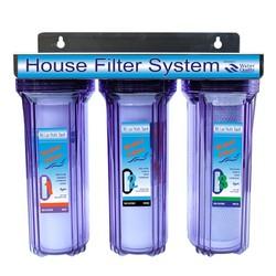 Bộ 3 cấp lọc thô lọc nước ăn uống 10 inch trong - máy lọc nước