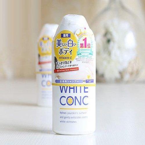 SỮA TẮM TRÁNG DA WHITE CONC
