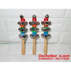 Lục lạc gỗ - Lắc gỗ nhiều chuông