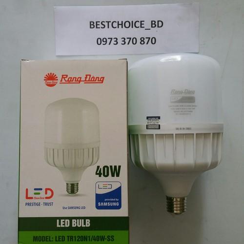 Bóng đèn led trụ 40W RẠNG ĐÔNG- Chip LED SAMSUNG siêu sáng - 7820128 , 10783917 , 15_10783917 , 140000 , Bong-den-led-tru-40W-RANG-DONG-Chip-LED-SAMSUNG-sieu-sang-15_10783917 , sendo.vn , Bóng đèn led trụ 40W RẠNG ĐÔNG- Chip LED SAMSUNG siêu sáng