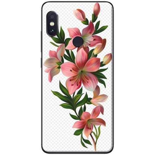 Ốp lưng nhựa dẻo Xiaomi Redmi Note 5 Cành hoa