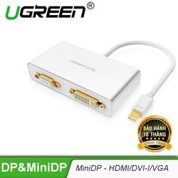 Cáp chuyển đổi từ 1 cổng M DPort sang 3 cổng HDMI DVI-I 24+5 VGA