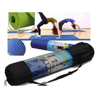 Thảm yoga loại dày 6mm có túi đeo vai xếp gọn - P4029Z thumbnail