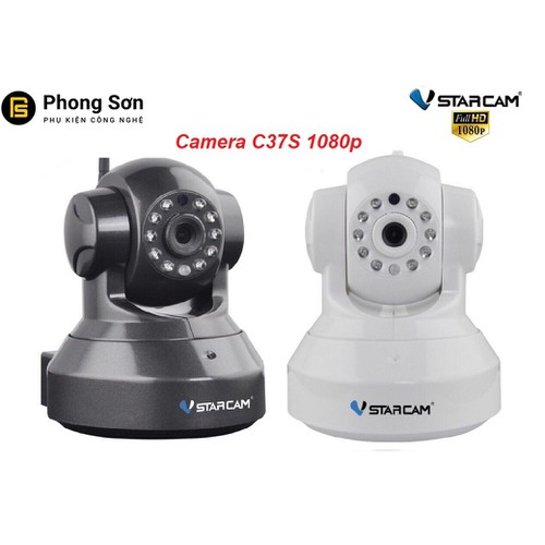 Camera wifi IP Vstarcam C37s Full HD 1080P - 10699649 , 10781791 , 15_10781791 , 950000 , Camera-wifi-IP-Vstarcam-C37s-Full-HD-1080P-15_10781791 , sendo.vn , Camera wifi IP Vstarcam C37s Full HD 1080P