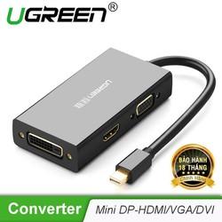 Cáp chuyển đổi 3 trong 1 M DPort sang HDMI VGA DVI-D 24+1hỗ trợ 4k2k