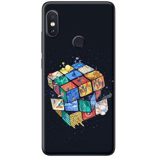 Ốp lưng nhựa dẻo Xiaomi Redmi Note 5 Rubic
