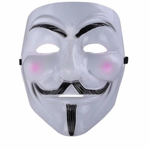 mặt nạ hacker trắng , Mặt nạ Hacker mặt nạ Anonymous Trắng