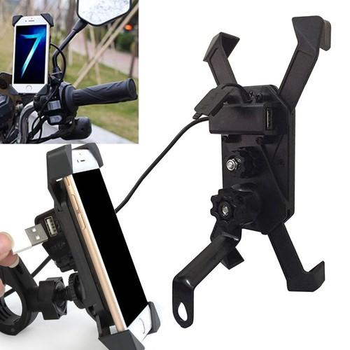 Giá đỡ điện thoại kiêm cổng sạc USB gắn chân gương xe máy - 5076064 , 10799633 , 15_10799633 , 150000 , Gia-do-dien-thoai-kiem-cong-sac-USB-gan-chan-guong-xe-may-15_10799633 , sendo.vn , Giá đỡ điện thoại kiêm cổng sạc USB gắn chân gương xe máy