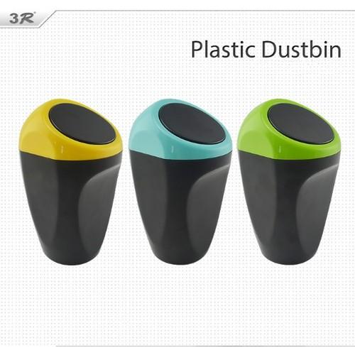Thùng rác mini trên ô tô 3r plastic dustbin - best seller tony