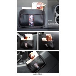 túi mini đựng đồ ô tô - túi đựng tiện dụng lấy nhanh cho ô tô