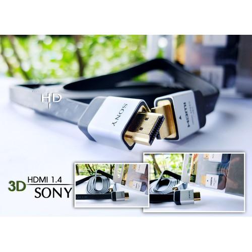 Cáp Hdmi SONY 5m dẹt chuẩn HDMI 1.4 độ phân giải  full HD tới 1080p - 5814566 , 12300100 , 15_12300100 , 66000 , Cap-Hdmi-SONY-5m-det-chuan-HDMI-1.4-do-phan-giai-full-HD-toi-1080p-15_12300100 , sendo.vn , Cáp Hdmi SONY 5m dẹt chuẩn HDMI 1.4 độ phân giải  full HD tới 1080p