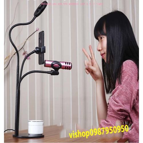 Bộ Giá đỡ Micro Livestream có đèn Led siêu đẹp - 5885066 , 12392151 , 15_12392151 , 215000 , Bo-Gia-do-Micro-Livestream-co-den-Led-sieu-dep-15_12392151 , sendo.vn , Bộ Giá đỡ Micro Livestream có đèn Led siêu đẹp