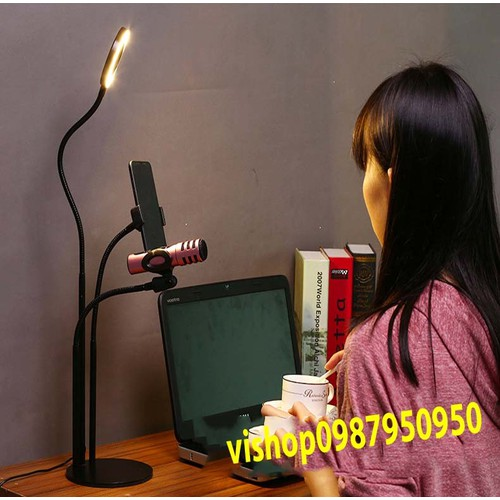 Bộ Giá đỡ Micro Livestream có đèn Led siêu đẹp - 4566214 , 13424475 , 15_13424475 , 219000 , Bo-Gia-do-Micro-Livestream-co-den-Led-sieu-dep-15_13424475 , sendo.vn , Bộ Giá đỡ Micro Livestream có đèn Led siêu đẹp