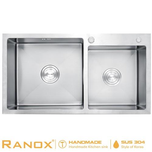 Chậu vòi rửa chén RANOX RN4670 - 10703785 , 10801141 , 15_10801141 , 4550000 , Chau-voi-rua-chen-RANOX-RN4670-15_10801141 , sendo.vn , Chậu vòi rửa chén RANOX RN4670