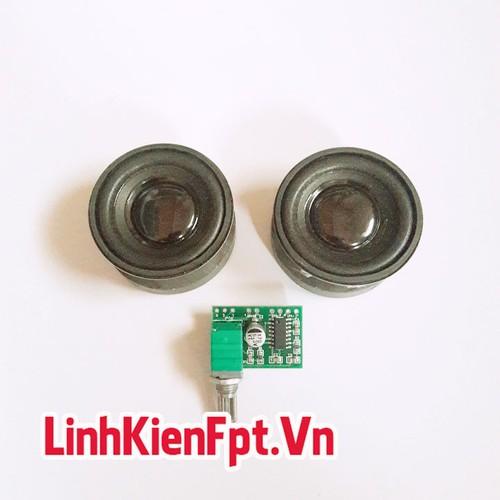 Linh kiện điện tử Loa 5W 4R + Khuếch Đại PAM 8403 - COMBO Chế Loa