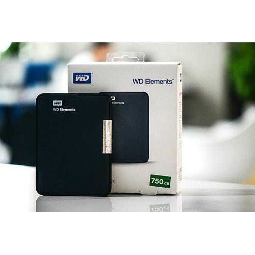 Ổ cứng di động WD Elements 750GB