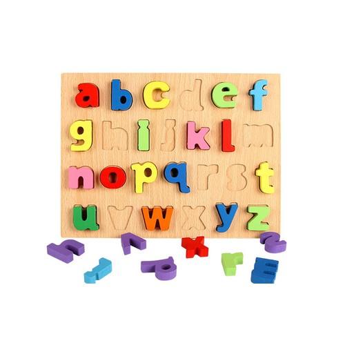 Bảng ghép chữ 3D - chữ thường