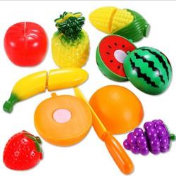 Bộ đồ chơi cắt ghép trái cây 9 chi tiết