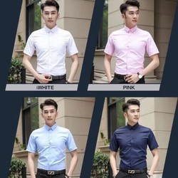 Bộ sưu tập sơ mi nam ngắn tay dáng Hàn Quốc