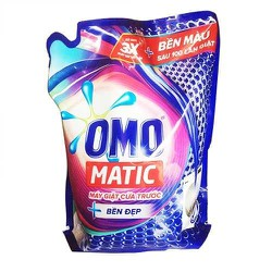 Túi nước giặt Omo Matic Cửa Trước Bền Màu 2.7kg...