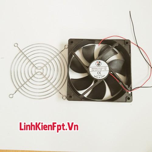 Quạt Tản Nhiệt 12*12 Kèm Lưới BẢo Vệ 12VDC - 10705316 , 10807259 , 15_10807259 , 65000 , Quat-Tan-Nhiet-1212-Kem-Luoi-BAo-Ve-12VDC-15_10807259 , sendo.vn , Quạt Tản Nhiệt 12*12 Kèm Lưới BẢo Vệ 12VDC