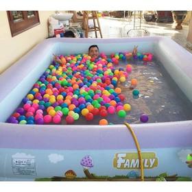 Bể bơi gia đình cỡ lớn 305x183x56 cho cả gia đình loại dày - tặng bơm điện hoặc bộ keo vá - 305x183x56