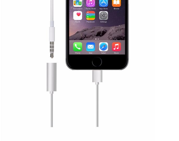Cáp chuyển tai nghe dùng cho iPhone 7 iPhone 8 iPhone X PKCB-AD7 15