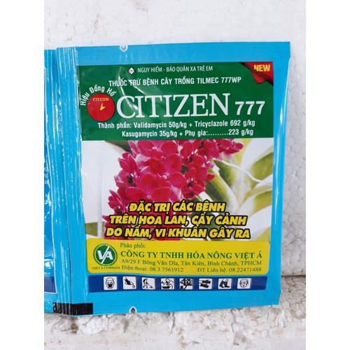 Citizin 777 trị bệnh trên phong lan