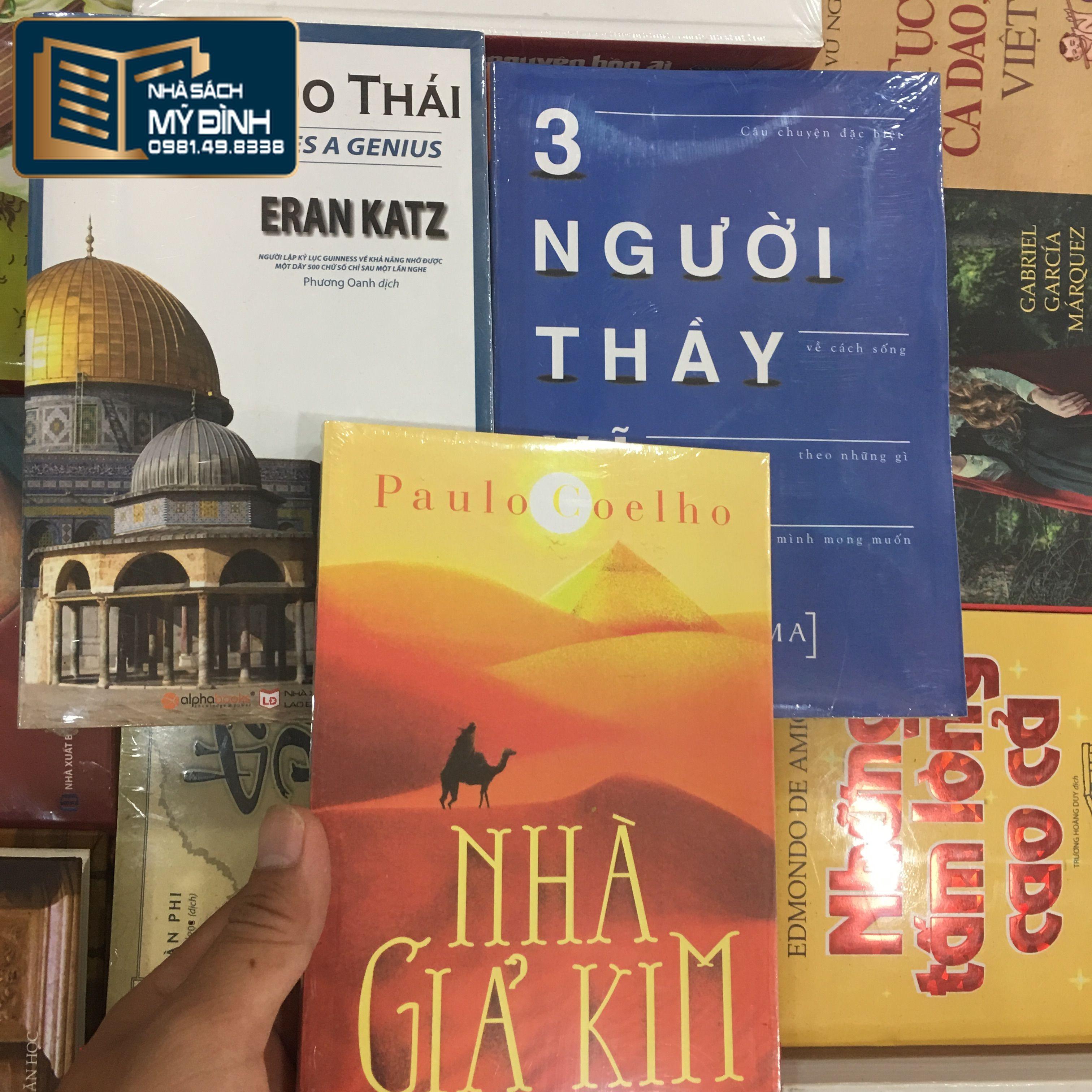 Nhà Sách Mỹ Đình: Nhà giả kim + 3 người thầy vĩ đại + trí tuệ do thái -  c164 | Sendo.vn
