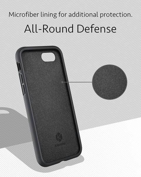 Ốp lưng Anker. KARAPAX Silicone cho iPhone 8, 7 Plus 2