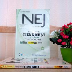 Sách NEJ Giáo trình tiếng Nhật căn bản theo chủ đề Vol 1 - Kèm CD