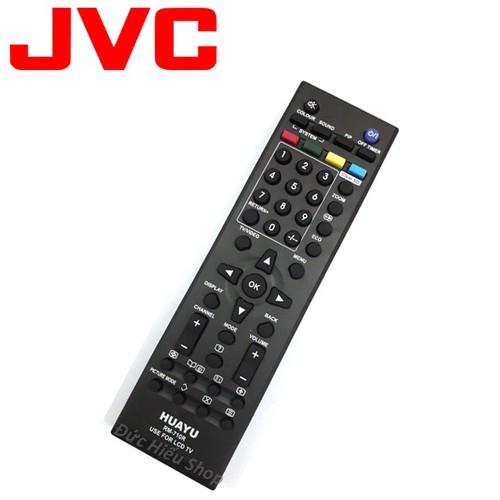 Remote điều khiển tivi JVC LCD ,hàng trong hộp   chuẩn công ty - Đức Hiếu Shop