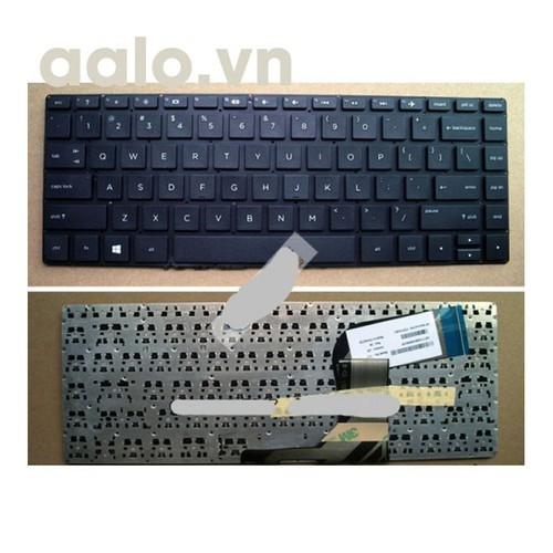 Bàn phím laptop HP 14P 14v đen - keyboard HP
